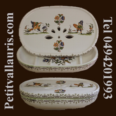 CARRY SOAP MODEL OLD MOUSTIERS TRADITION DECORATION