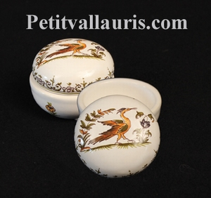 JEWELS LIMP ROUND MODEL OLD MOUSTIERS TRADITION DECORATION