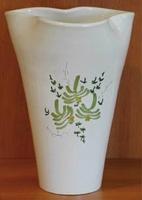 VASE GLAIEUL GREEN FLOWERS DECORATION HEIGHT 25 CM