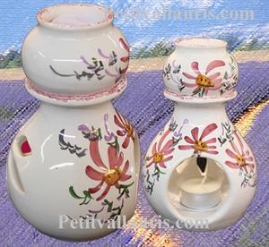 BRULE PERFUME (burn) PINK FLOWERS DECORATION