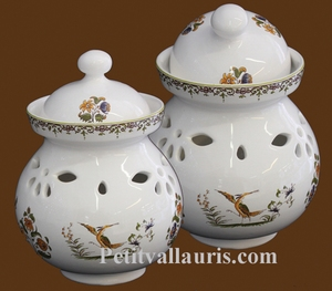 GARLIC POT OLD MOUSTIERS TRADITION DECORATION