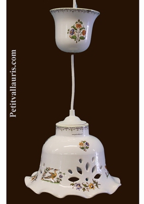 SUSPENSION LACE BELL MODEL OLD MOUSTIERS TRADITION DECOR