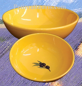 SALAD OR SOUP PLATE PROVENCAL COLOR AND DECOR