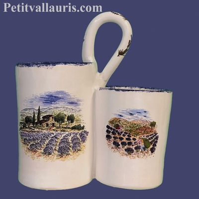 COLLECT FORKS AND SPOONS PROVENCE LANDSCAPE DECORATION