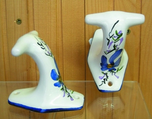 PATERE CLASSIC MODEL BLUE FLOWERS COLOR (Unit Price)