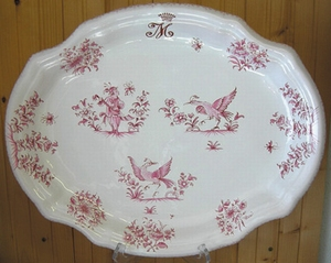 OVAL STYLE DISH