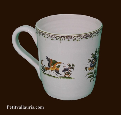CHOPE-MUG DECOR TRADITION VIEUX MOUSTIERS