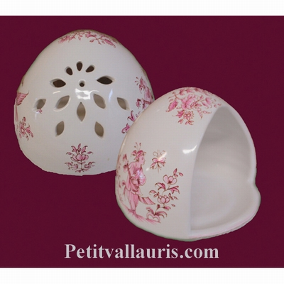 COVER SPONGE OLD MOUSTIERS PINK DECORATION