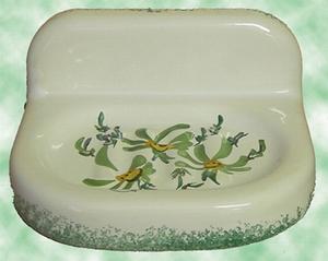 CARRY MURAL SOAP MODEL GREEN FLOWER DECORATION