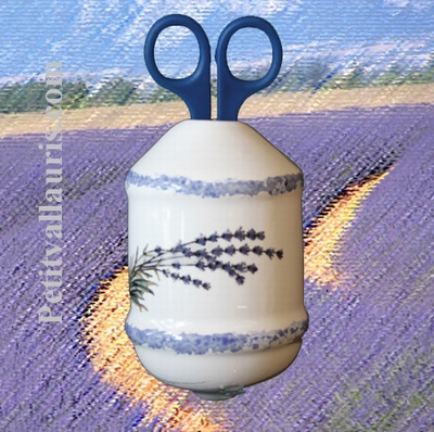 TWINE DISPENSER LAVANDER BRANCH DECORATION