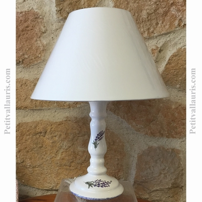 LAMP CANDLESTICK MODEL PROVENCE LABANDERDECOR