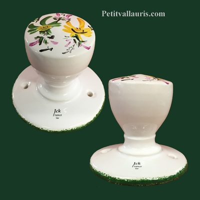 PATERE GREEN AND YELLOW FLOWER DECORATION Unit Price