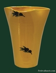 VASE GLAIEUL LARGE SIZE MODEL PROVENCAL DECOR BLACK OLIVES