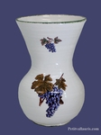 VASE NADINE TAILLE 2 DECOR GRAPPE DE RAISIN