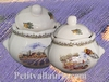 SUGAR BOWL MODEL PROVENCE LANDSCAPE  DECORATION