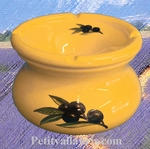 ANTI SMOKE ASHTRAY SMALL SIZE MODEL PROVENCAL COLOR AND DECO
