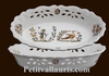 CORBEILLE OVALE AJOUREE DECOR TRADITION VIEUX MOUSTIERS