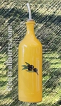 OILCAN BOTTLE PROVENCE DECORATION BLACK OLIVES