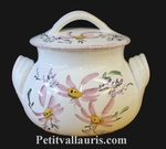 LITTLE COOKING-POT PINK FLOWERS DECORATION