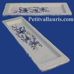REST SPOON BLUE FLOWERS DECORATION