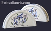 CARRY NAPKINS BLUE FLOWERS DECORATION