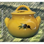 LITTLE COOKING-POT COLOR PROVENCAL AND OLIVE DECORATION