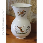 VASE NADINE TAILLE 2 DECOR TRADITION VIEUX MOUSTIERS