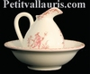 MINIATURE WASHES HANDS PINK OLD MOUSTIERS TRADITION DECOR