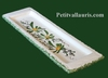 REST SPOON GREEN FLOWERS DECORATION