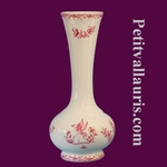 SOLIFLOR VASE OLD MOUSTIERS PINK DECORATION TRADITION