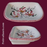 CARRY SOAP ANNIE MODEL PINK FLOWERS DECORATION