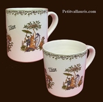 MUG WITH CUSTOMIZED NAME POLYCHROME COLOR