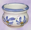 ANTI SMOKE ASHTRAY BLUE FLOWERS
