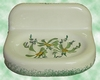 CARRY MURAL SOAP MODEL GREEN FLOWER DECORATION