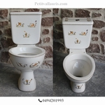 TOILETTES-WC  DECOR TRADITION VIEUX MOUSTIERS