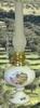 OIL LAMP LANDSCAPE OLIVE BRANCHES DECORATION
