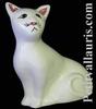 CAT MODEL MISTIGRI ENAMELLED WHITE COLOR
