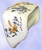 TOILET PAPER UNCURLER NEW MODEL BLUE& YELLOW FLOWERS DECOR