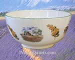 SALAD BOWL LARGE SIZE PROVENCE LANDSCAPE DECORATION