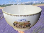 SALAD BOWL SMALL SIZE PROVENCE LANDSCAPE DECORATION
