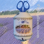 TWINE DISPENSER PROVENCE LANSCAPE DECORATION