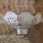 APPLIQUE AJOUREE FACETTE DECOR TRADITION VX MOUSTIERS ROSE