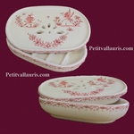 CARRY SOAP MODEL PINK OLD MOUSTIERS TRADITION DECORATION