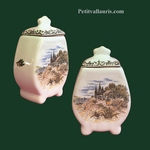 FAIENCE CHIMNEY POT PROVENCE DECOR SIZE 1