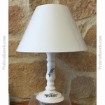 LAMPE MODELE CHANDELIER BOUGEOIR DECOR BRINS DE LAVANDES