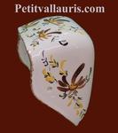 TOILET PAPER UNCURLER NEW MODEL BROWN COLOR FLOWERS DECOR